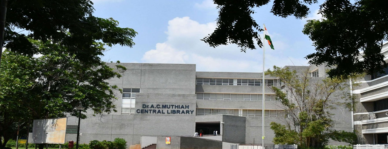 Dr AC Muthiah Central Library